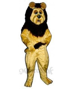 Cowardly Lion Mascot Costume