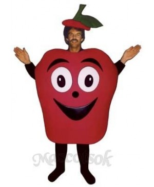 Baked Apple Mascot Costume