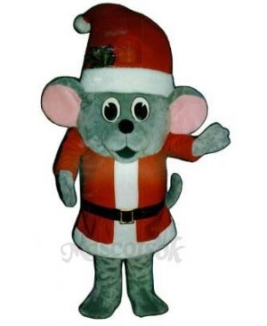 Madcap Santa Mouse Mascot Costume