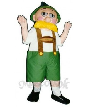 Alpine Man Mascot Costume