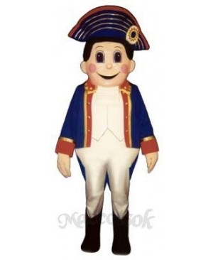 Colonial Boy Mascot Costume