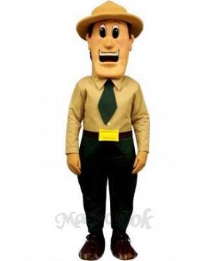 Warden Walt Mascot Costume
