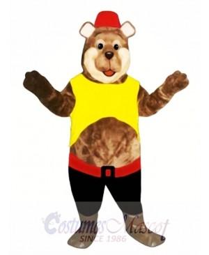 Good Ole Boy Bear Mascot Costume