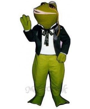 Courting Frog Mascot Costume