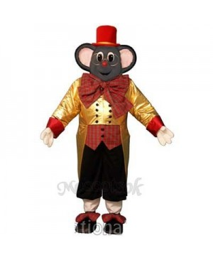 Holiday Mouse Christmas Mascot Costume
