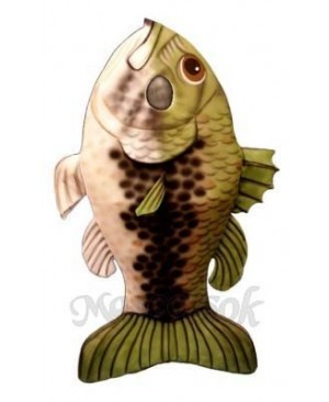 Large Mouth Bass Fish Mascot Costume