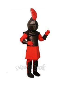 Red Knight Mascot Costume