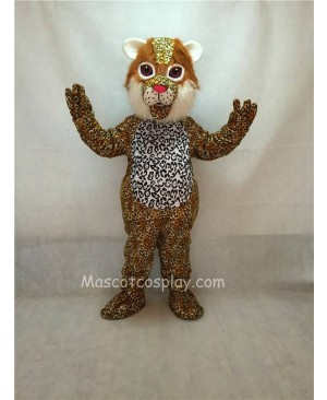 High Quality Ocelot Cat Mascot Costume