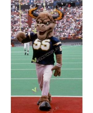 Fierce Bull San Diego Chargers Mascot Costume American Football Team Mascot Costume