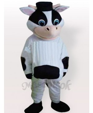 Weird Cow Adult Mascot Funny Costume