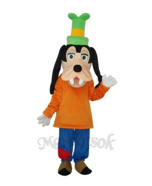 4th Version Goofy Dog Mascot Adult Costume