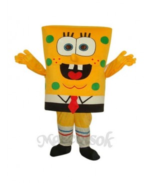 Funny Cool SpongeBob Squarepants Adult Mascot Costume
