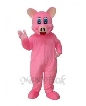 Pink Pig Mascot Adult Costume