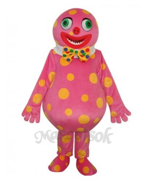Spotted Clown Mascot Adult Costume