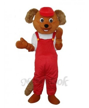Bear Beaver Rat Mascot Adult Costume