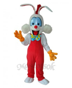 Easter Roger Rabbit Mascot Adult Costume