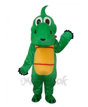 Yoshi Dinosaur Mascot Adult Costume