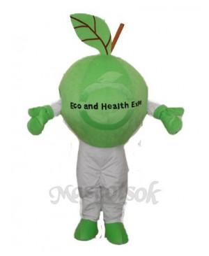 Green Apple Mascot Adult Costume
