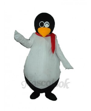 Penguin QQ Mascot Adult Costume