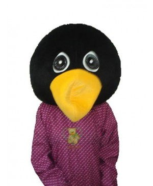 Penguin Head Mascot Adult Costume