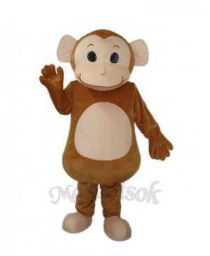 New Little Brown Monkey Mascot Adult Costume