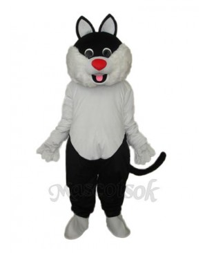 Haha Cat Mascot Adult Costume