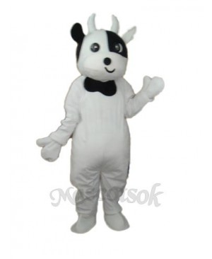 Odd Face Cow Mascot Adult Costume