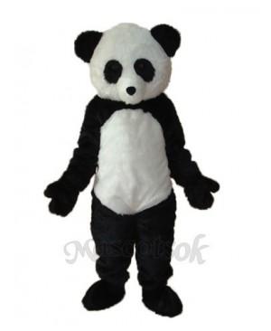 Long Wool giant Panda Mascot Adult Costume