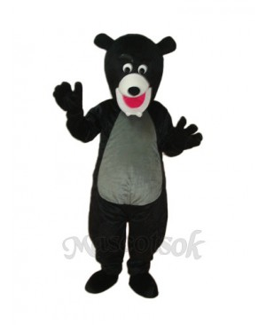 Black Bear Mascot Adult Costume