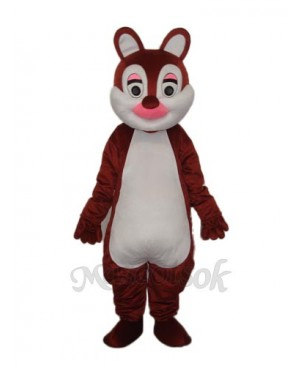 Pink Nose Squirrels Mascot Adult Costume