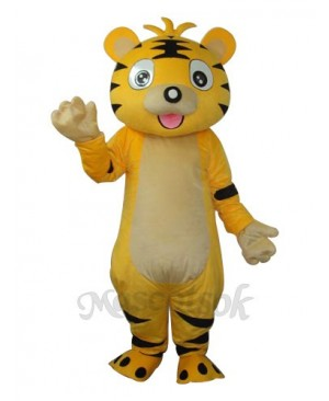 Small Tiger Mascot Adult Costume