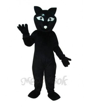 Black Fox Mascot Adult Costume