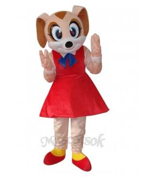 Mini Mouse Mascot Adult Costume