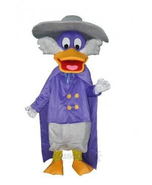 Naughty Purple Duck Adult Mascot Costume