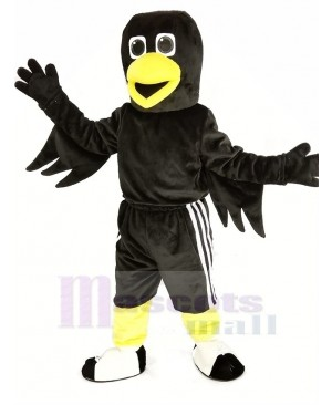 Black Bird Raven Mascot Costume Animal
