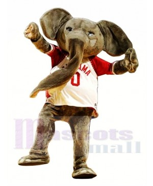 Sporty Elephant Mascot Costume