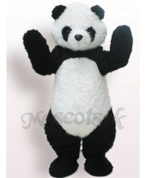 Black And White Panda Plush Adult Mascot Funny Costume