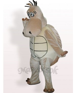 Brown Tortoise Plush Adult Mascot Cosume