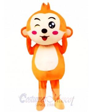 Cartoon Monkey Mascot Costume