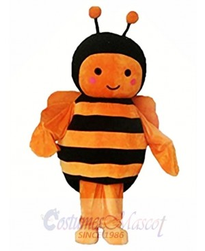Orange Black Bee Christmas Halloween Mascot Costume
