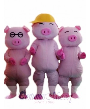 Mcdull Pig Mascot Costume Custom Fancy Costume