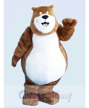Brown Charmin Bear Mascot Adult Costume