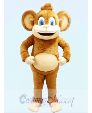 Safari Monkey Mascot Costume