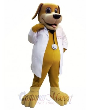 Dr. Dog Mascot Costume