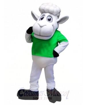 Cute Sheep Mascot Costume