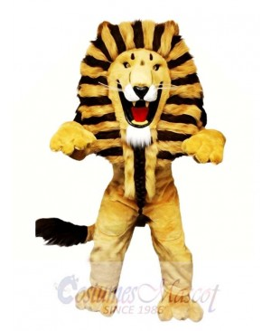 The King Lion Mascot Costume