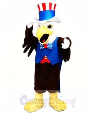The American Bald Eagle Mascot Costume