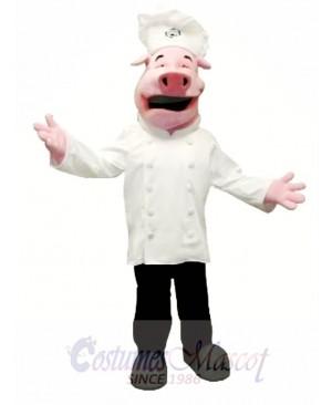 Chef Pig Mascot Costume