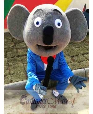 Cartoon Koala Mascot Costume