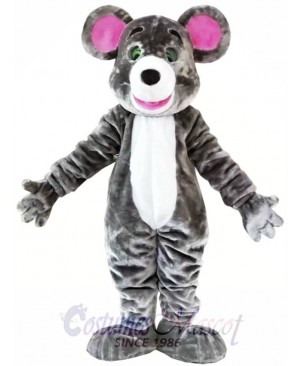Gray Mouse Mascot Costume Animal Costume for Adult